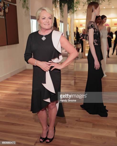 Designer Pamela Rowland attends her Pamella Roland Resort 2018 Presentation at Bvlgari on June 8 2017 in New York City