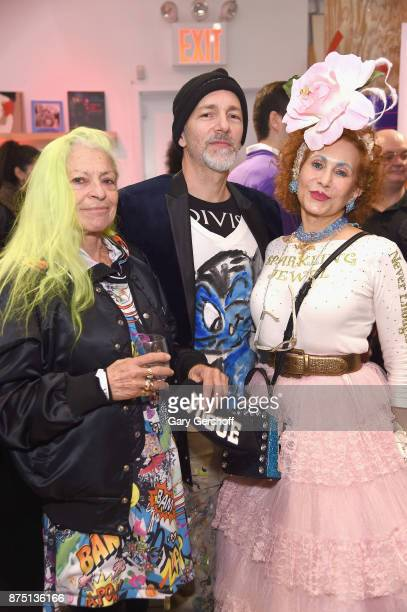 Designer Patricia Fox of Purely Patricia attends Housing Works' Fashion for Action 2017 charity event at Fred's at Barney's on November 16 2017 in...