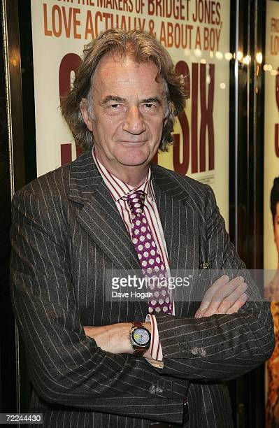 Designer Paul Smith arrives at the UK Premiere of Sixty Six at Empire Cinema Leicester Square on October 23 2006 in London England