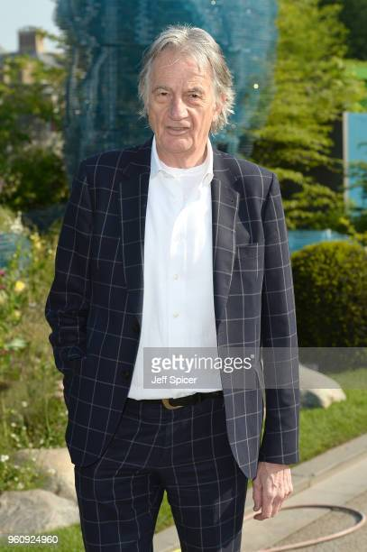 Designer Paul Smith attends the Chelsea Flower Show 2018 on May 21 2018 in London England