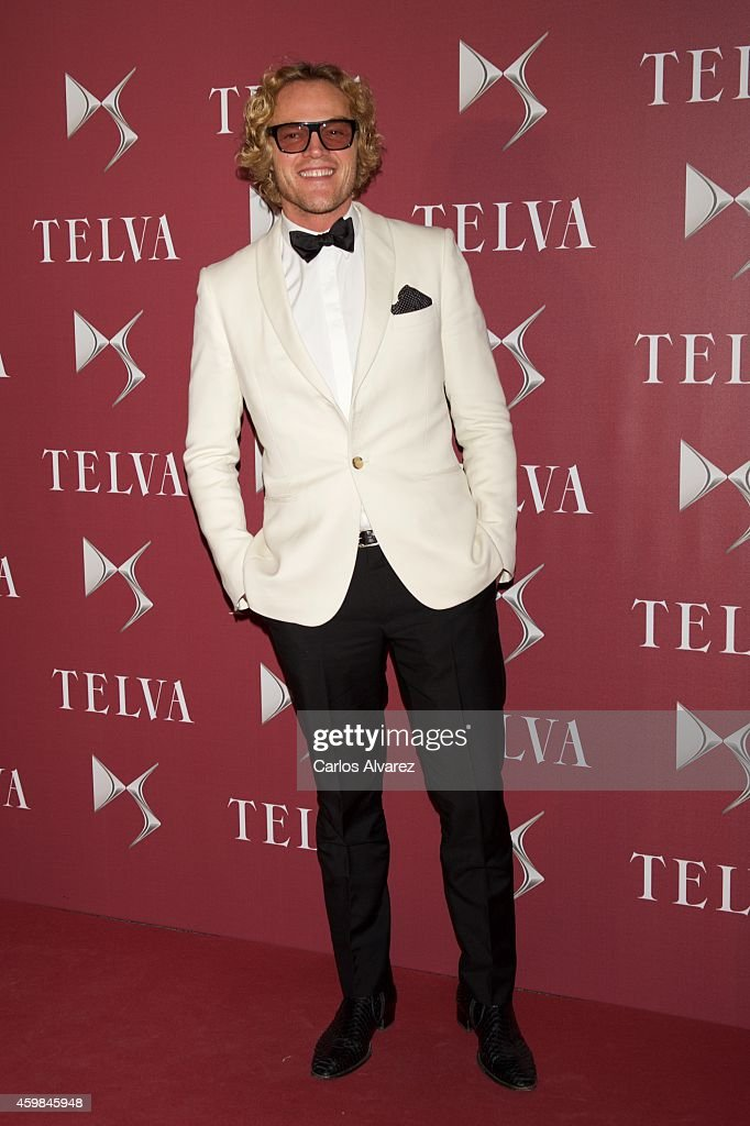 Designer Peter Dundas attends the 'Telva Beauty' 2014 awards at the Royal Teather on December 2, 2014 in Madrid, Spain.