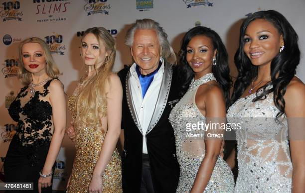 Designer Peter Nygard arrives for Norby Walters' 24nd Annual Night Of 100 Stars Oscar Viewing Gala held at Beverly Hills Hotel on March 2 2014 in...