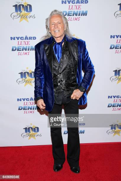 Designer Peter Nygard attends The 27th Annual Night Of 100 Stars Black Tie Dinner Viewing Gala at the Beverly Hilton Hotel on February 26 2017 in...