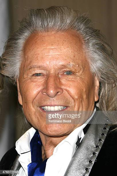 Designer Peter Nygard attends the Norby Walters' 24nd annual Night Of 100 Stars Oscar viewing gala held at the Beverly Hills Hotel on March 2 2014 in...