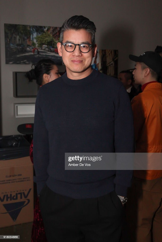 Designer Peter Som attends New York Chinese New Year Celebration at Calligaris SoHo on February 13, 2018 in New York City.