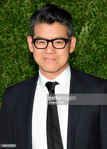 Designer Peter Som attends the 12th annual CFDA/Vogue Fashion Fund Awards at Spring Studios on November 2 2015 in New York City
