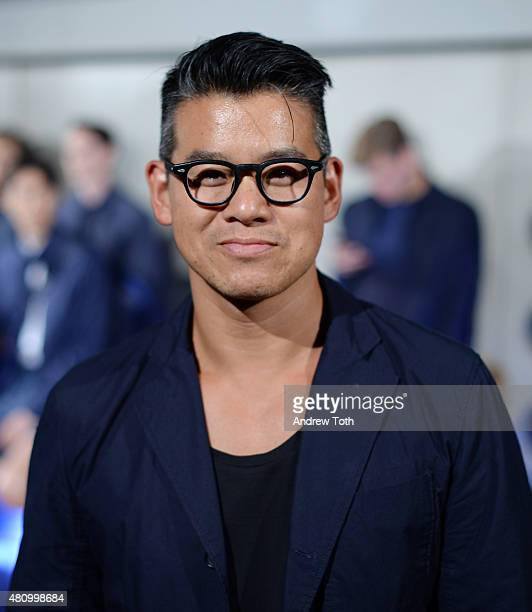 Designer Peter Som attends the Craft Atlantic presentation during New York Fashion Week Men's S/S 2016 at Hotel Americano on July 16 2015 in New York...
