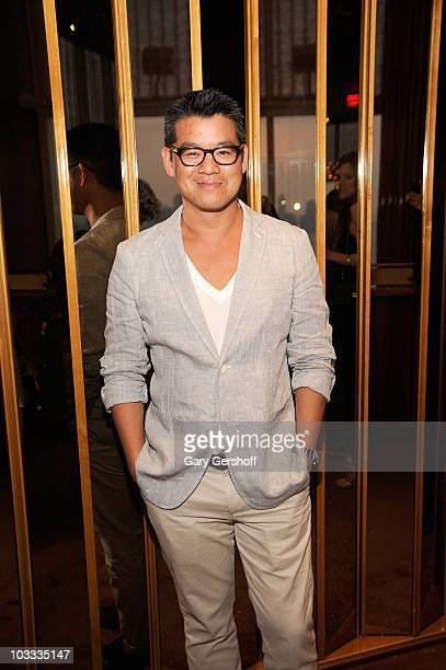 Designer Peter Som attends the Reeve Champions Summer Party hosted by Dior Beauty and the Christopher Dana Reeve Foundation at the Boom Boom Room in...