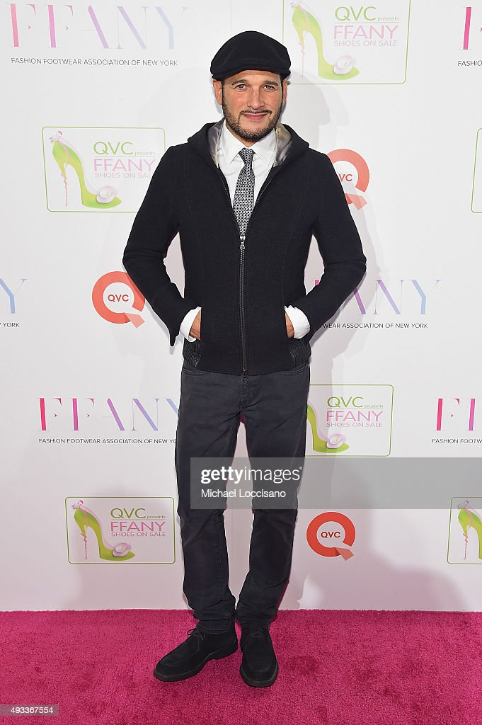 Designer Phillip Bloch attends QVC presents 'FFANY Shoes on Sale' on October 19, 2015 at the Waldorf Astoria Hotel in New York City.