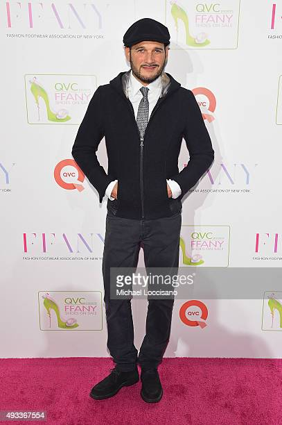 Designer Phillip Bloch attends QVC presents 'FFANY Shoes on Sale' on October 19 2015 at the Waldorf Astoria Hotel in New York City