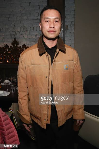 Designer Phillip Lim attends Chinese New Year Celebration with Ezra William, Prabal Gurung, Laura Kim and Tina Leung at Wayan on February 01, 2019 in...