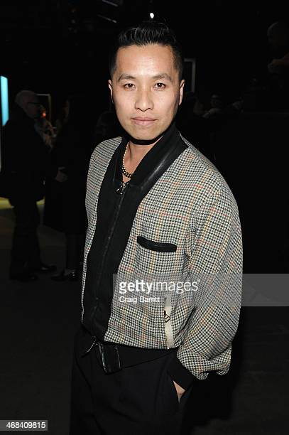 Designer Phillip Lim attends the 3.1 Phillip Lim fashion show during Mercedes-Benz Fashion Week Fall 2014 at Skylight at Moynihan Station on February...