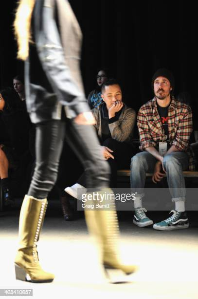 Designer Phillip Lim attends the 31 Phillip Lim fashion show during MercedesBenz Fashion Week Fall 2014 at Skylight at Moynihan Station on February...