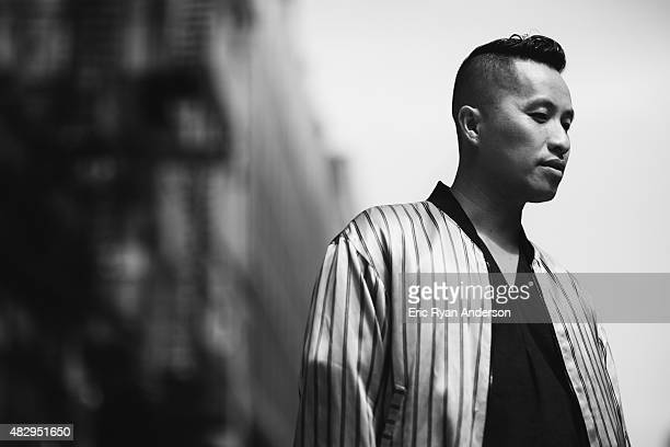 Designer Phillip Lim is photographed for Gotham Magazine on July 9 2014 in New York City