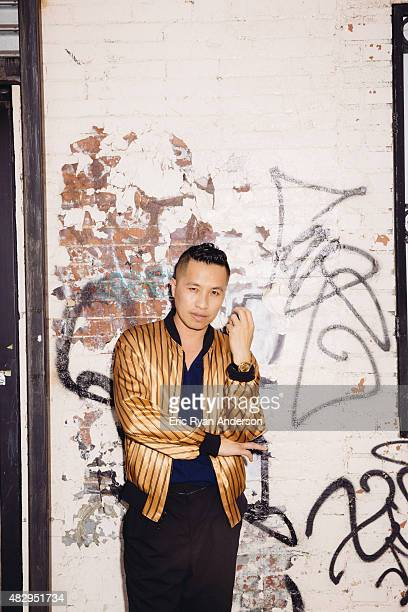 Designer Phillip Lim is photographed for Gotham Magazine on July 9, 2014 in New York City.