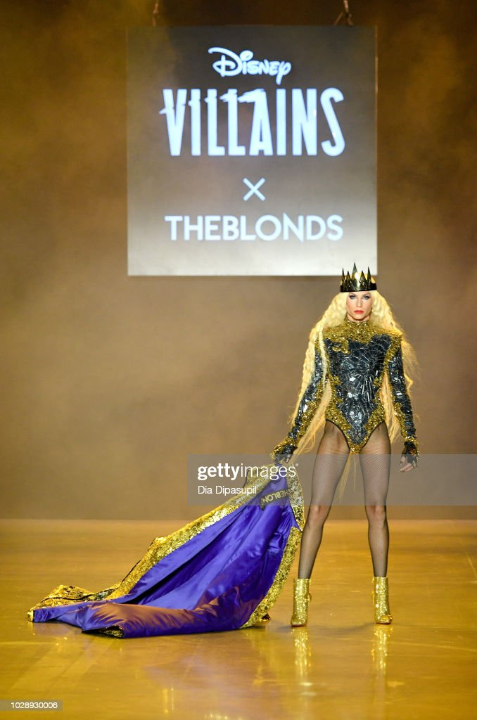 Disney Villains x The Blonds NYFW Show -Runway : News Photo