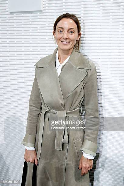 Designer Phoebe Philo attends the LVMH Prize 2016 Young Fashion Designer at Fondation Louis Vuitton on June 16 2016 in Paris France