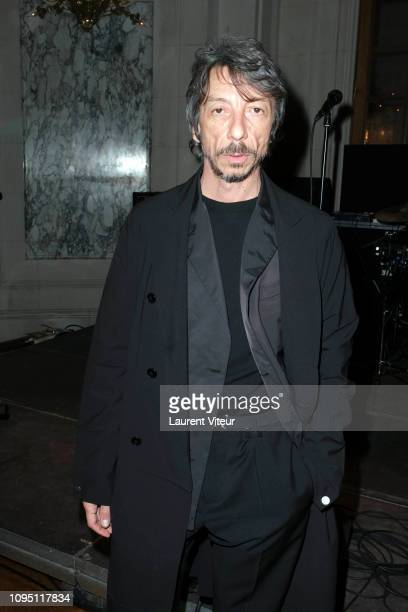 Designer Pierpaolo Piccioli attends the Raf Simons Menswear Fall/Winter 20192020 show as part of Paris Fashion Week on January 16 2019 in Paris France