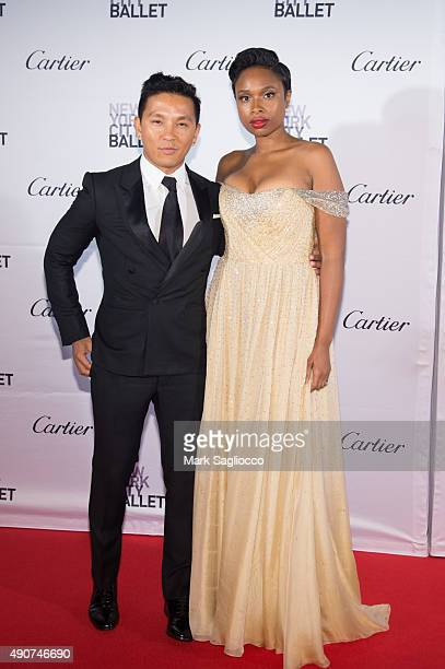Designer Prabal Gurung and Singer Jennifer Hudson attends the 2015 New York City Ballet Fall Gala at the David H Koch Theater at Lincoln Center on...