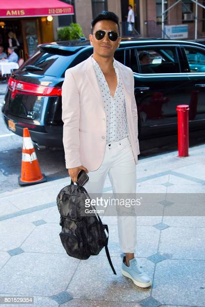 Designer Prabal Gurung attends a dinner honoring Anna Wintour on June 26 2017 in New York City