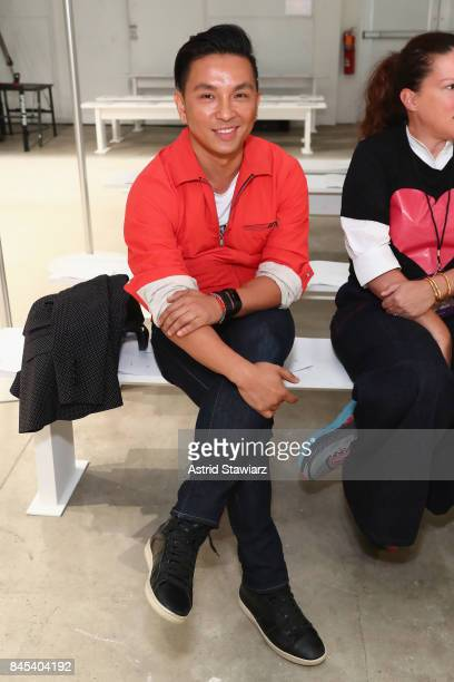 Designer Prabal Gurung attends rehearsals for the Prabal Gurung fashion show during New York Fashion Week The Shows at Gallery 2 Skylight Clarkson Sq...