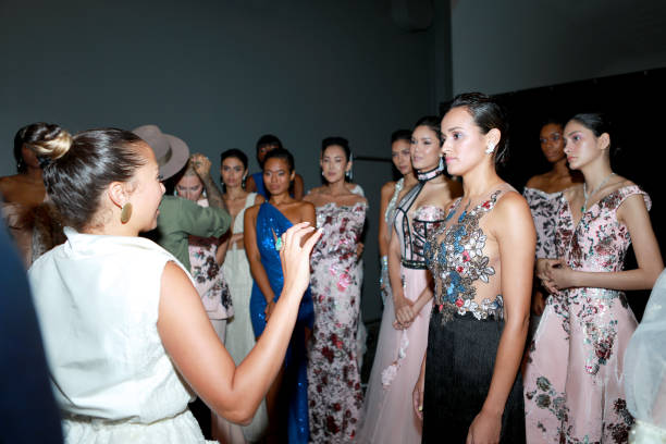 NY: CAAFD Emerging Designer Collective - Backstage - September 2019 - New York Fashion Week: The Shows