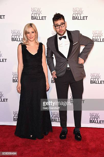 Designer Rachel Antonoff and musician Jack Antonoff attend the 2016 New York City Ballet Spring Gala at David H. Koch Theater at Lincoln Center on...