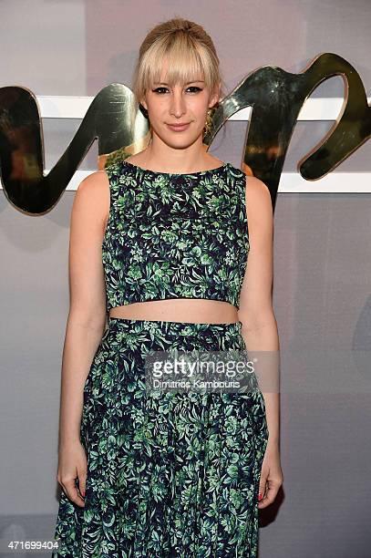 Designer Rachel Antonoff attends the POPSUGAR Digital Newfront 2015 at Cedar Lake on April 30 2015 in New York City