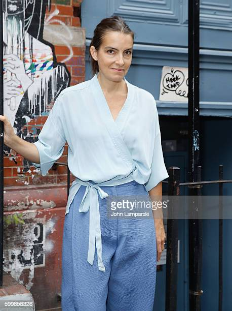 Designer Rachel Comey attends Rachel Comey presentation during New York Fashion Week on September 7 2016 in New York City