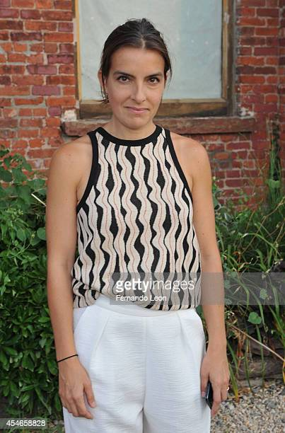 Designer Rachel Comey attends the Rachel Comey presentation at Pioneer Works Center For Arts Innovation in Red Hook on September 4 2014 in New York...