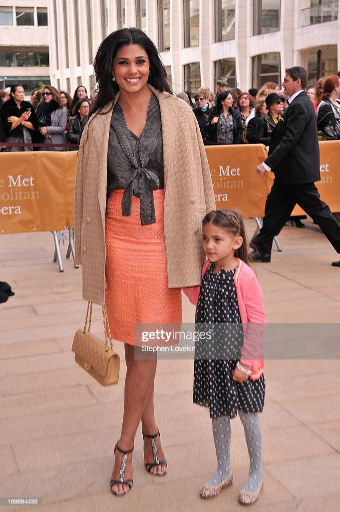 Designer Rachel Roy and daughter Tallulah attend the American Ballet Theatre opening night Spring Gala at Lincoln Center on May 13, 2013 in New York City.