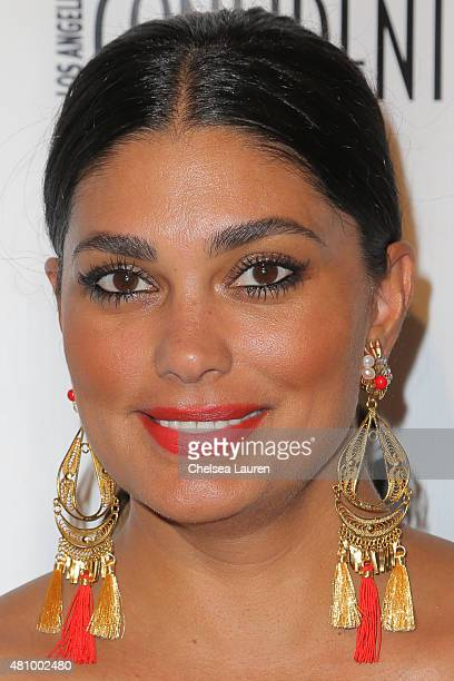 Designer Rachel Roy attends Los Angeles Confidential Women Of Influence Celebration hosted by Christina Hendricks on July 16 2015 in Los Angeles...