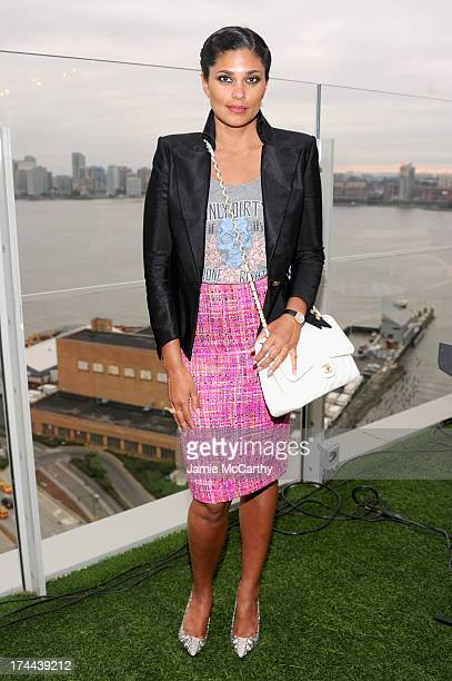 Designer Rachel Roy attends M Missoni is for Music Summer Event at Le Bain Rooftop at The Standard on July 25 2013 in New York City
