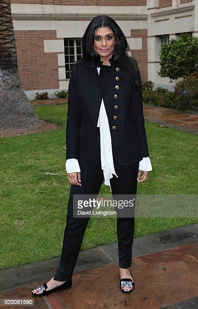 Designer Rachel Roy attends the 2016 Los Angeles Times Festival of Books at USC on April 9 2016 in Los Angeles California