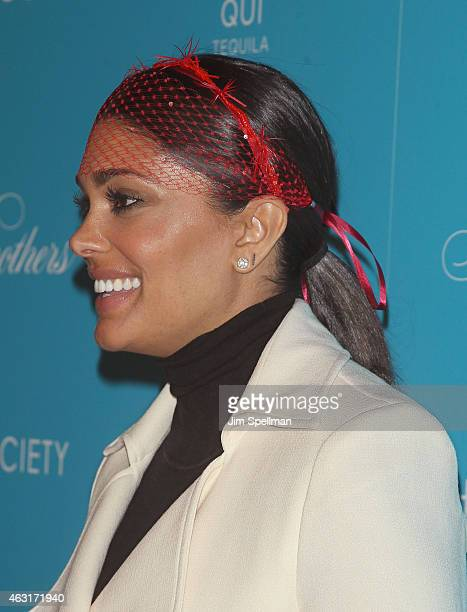 """Designer Rachel Roy attends The Cinema Society and Brooks Brothers host a screening of """"The Rewrite"""" at Landmark's Sunshine Cinema on February 10,..."""