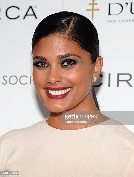 Designer Rachel Roy attends The Cinema Society With Rachel Roy Circa Host A Screening Of Trishna at IFC Center on July 10 2012 in New York City