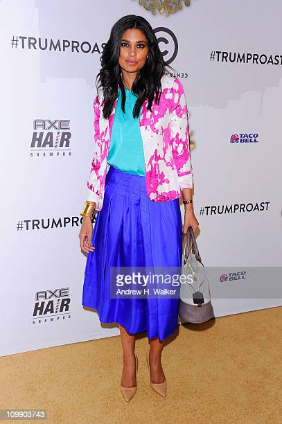 Designer Rachel Roy attends the Comedy Central Roast Of Donald Trump at the Hammerstein Ballroom on March 9 2011 in New York City