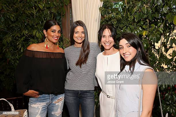 Designer Rachel Roy attends the Los Angeles Confidential Women of Influence Celebration Hosted by Christina Hendricks on July 16 2015 at the Four...