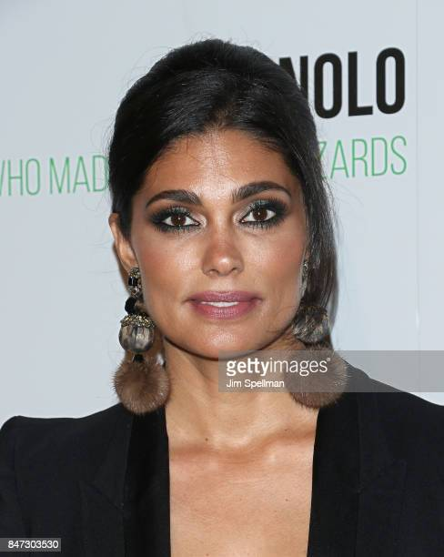 Designer Rachel Roy attends the 'Manolo The Boy Who Made Shoes For Lizards' world premiere hosted by Manolo Blahnik with The Cinema Society at The...