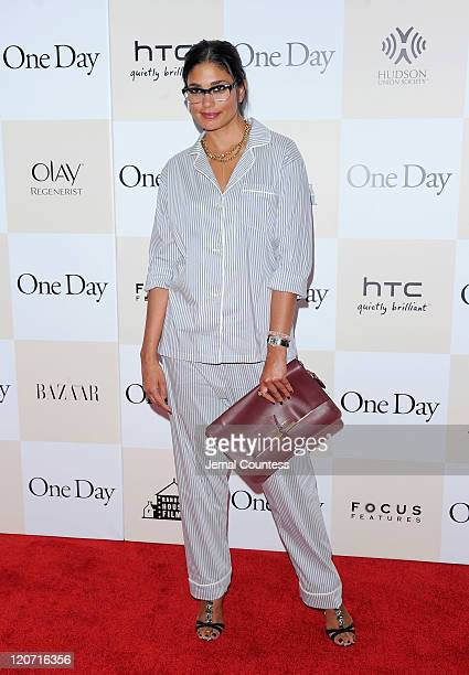 Designer Rachel Roy attends the One Day premiere at the AMC Loews Lincoln Square 13 theater on August 8 2011 in New York City