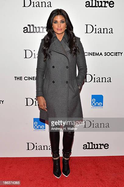 Designer Rachel Roy attends the screening of Entertainment One's Diana hosted by The Cinema Society With Linda Wells and Allure Magazine at SVA...