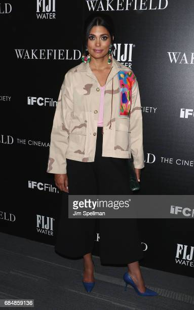 Designer Rachel Roy attends the screening of IFC Films' Wakefield hosted by The Cinema Society at Landmark Sunshine Cinema on May 18 2017 in New York...