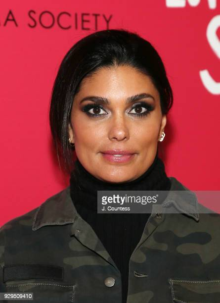 Designer Rachel Roy poses for a photo at the screening of 'Love Simon' hosted by 20th Century Fox Wingman at The Landmark at 57 West on March 8 2018...