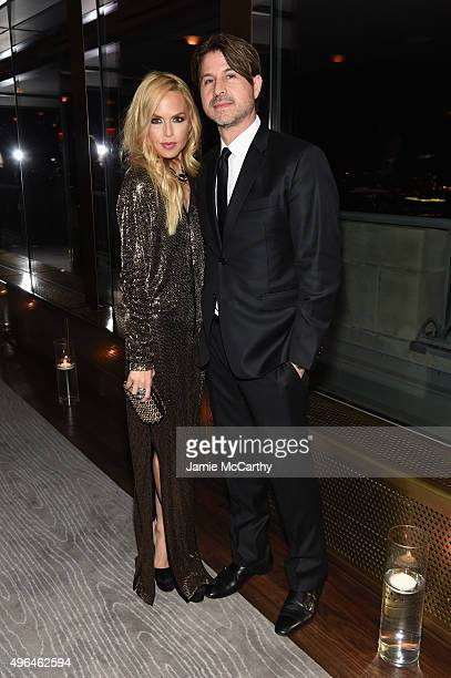 Designer Rachel Zoe and Rodger Berman attend the 2015 Glamour Women of The Year Awards dinner hosted by Cindi Leive at The Rainbow Room on November 9...