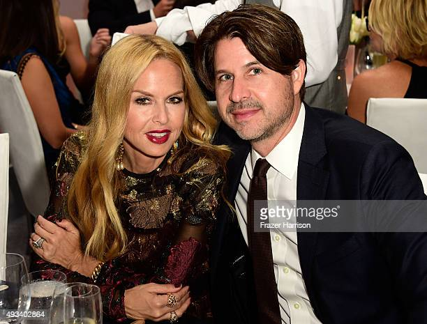 Designer Rachel Zoe and Rodger Berman attend the 22nd Annual ELLE Women in Hollywood Awards presented by Calvin Klein Collection L'Oréal Paris and...