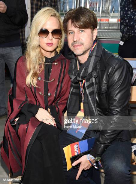 Designer Rachel Zoe and Rodger Berman attend the TommyLand Tommy Hilfiger Spring 2017 Fashion Show on February 8 2017 in Venice California
