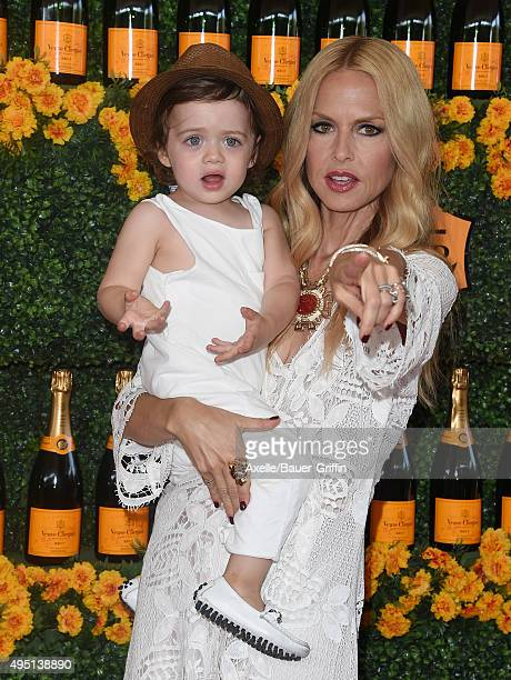 Designer Rachel Zoe and son Kaius Jagger Berman arrive at the SixthAnnual Veuve Clicquot Polo Classic Los Angeles at Will Rogers State Historic Park...