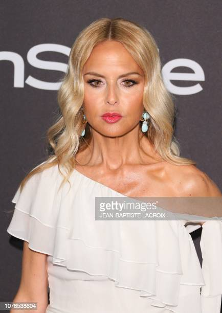 US designer Rachel Zoe arrives for the Warner Bros and In Style 20th annual post Golden Globes party at the Oasis Courtyard of the Beverly Hilton...