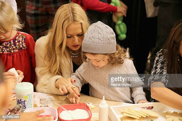 Designer Rachel Zoe attends Brooks Brothers holiday celebration with St Jude Children's Research Hospital on December 3 2016 in Beverly Hills...