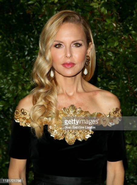 Designer Rachel Zoe attends Charles Finch And CHANEL's 11th Annual PreOscar Awards Dinner at Polo Lounge at The Beverly Hills Hotel on February 23...